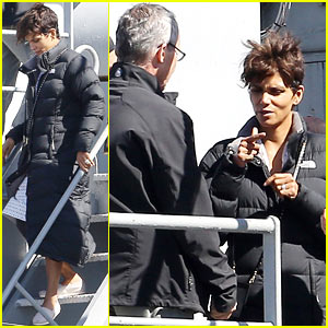 Halle Berry on Husband Olivier Martinez: 'I Think He's Delicious!'