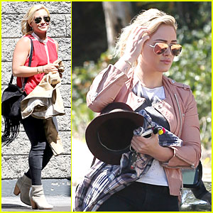 Hilary Duff Appreciates All the Love for Her New Record!