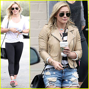 Hilary Duff Uses an Alias at Starbucks - Find Out What It Is!