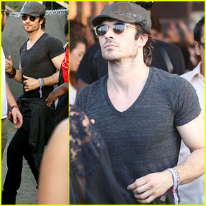 Ian Somerhalder Hits Up Coachella Amid Molly Swenson Dating Rumors