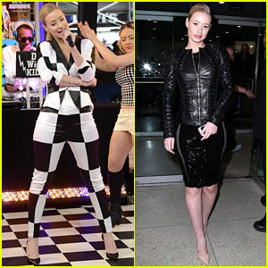 Iggy Azalea Can't Crowdsurf Anymore Because People Will Sexually Harass Her
