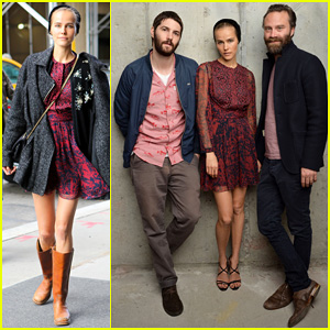 Isabel Lucas is Picture Perfect with Jim Sturgess at Tribeca Film Fest!