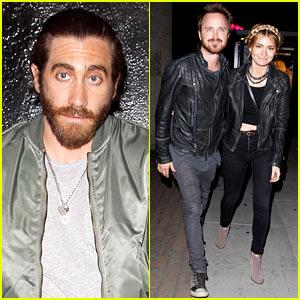 Jake Gyllenhaal & Aaron Paul Are Always So Easy on the Eyes!