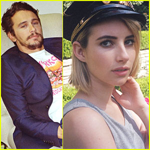 James Franco & Emma Roberts Get Up Close & Personal for 'Paper' Mag! (Exclusive Photos)