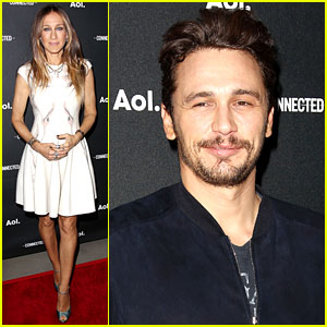 James Franco & Sarah Jessica Parker Present New AOL Shows!