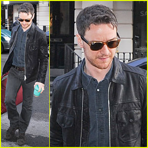 James McAvoy Shows His Serious Swagger in Leather!
