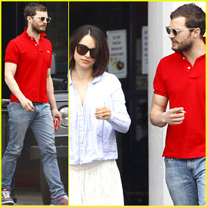 Jamie Dornan Treats His Wife Amelia to Lunch in London!