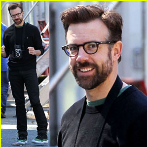 New Dad Jason Sudeikis Back at Work After Baby Otis' Birth!