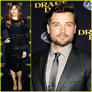 Jennifer Garner & Tom Welling Take 'Draft Day' to New York City!