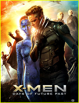 Jennifer Lawrence & Hugh Jackman Are Front & Center for New 'X-Men' Posters!