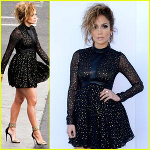 Jennifer Lopez Rocks '80s Chic Look for 'American Idol'!