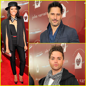 Joe Manganiello & Kat Graham Show Their Support at the John Varvatos Stuart House Benefit!
