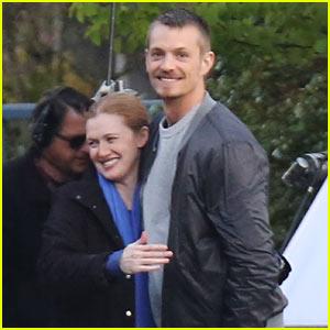 Joel Kinnaman is All Smiles, In Good Spirits After Olivia Munn Split