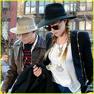 Johnny Depp & Amber Heard Step Out Together in New York