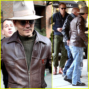 Johnny Depp's Movie 'Mortdecai' Gets February 2015 Release