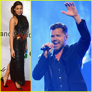 Jordin Sparks & Ricky Martin: Powerhouse Performers at Power of Love Gala!