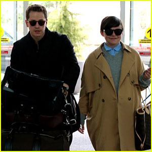 Josh Dallas Does the Heavy Lifting for Pregnant Ginnifer Goodwin