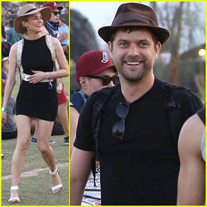 Joshua Jackson & Diane Kruger Happily Wrap Up Their Weekend at Coachella!