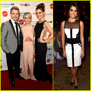 Julianne Hough Dances Her Way to the Kaleidoscope Ball with Nikki Reed!