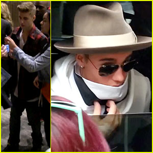 Justin Bieber Shares a Meal with Kendall Jenner in NYC!