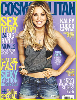 Kaley Cuoco Discusses Short-Lived Henry Cavill Fling & Her Fast Engagement to Ryan Sweeting in 'Cosmopolitan'