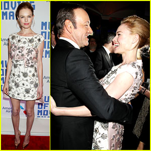 Kate Bosworth Reunites with Kevin Spacey at Museum of Moving Image Event!