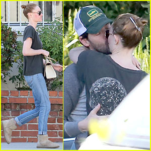 Kate Bosworth & Michael Polish Get Their Backs Cracked and Pack on the PDA