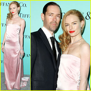 Kate Bosworth & Husband Michael Polish Make Tiffany's Celebration a Black Tie Affair!