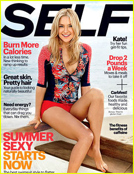 Kate Hudson Reveals 'Flawed' Relationships in 'Self' May 2014