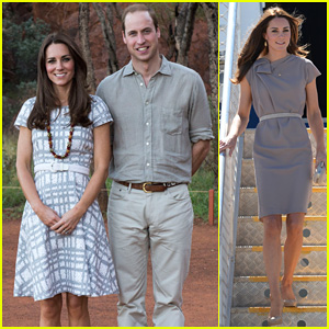 Kate Middleton Dazzles In Two Dresses During Visit To Uluru with Prince William!