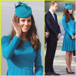 Kate Middleton's Matching Dress & Hat is One of Her Best Looks!