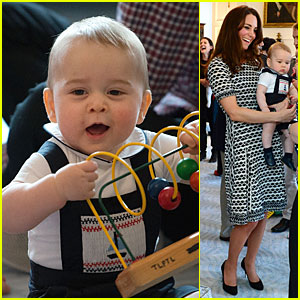 Kate Middleton & Prince George Enjoy Play Date with Other Parents!
