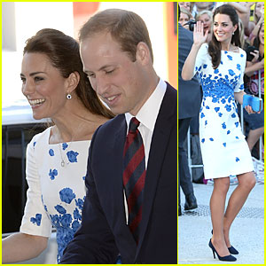 Kate Middleton & Prince William Are the Perfect Royal Pair at Brisbane Reception!