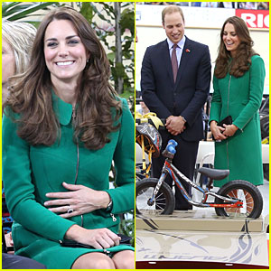 Aww! Kate Middleton & Prince William Get a Mini Bike for Prince George!