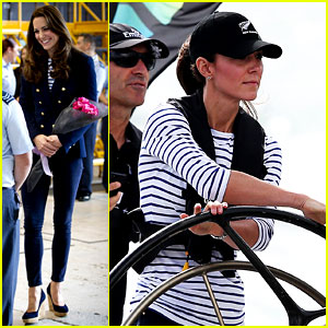 Kate Middleton Can Look Chic Even When She's Racing Yachts!