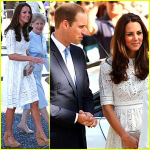 Kate Middleton & Prince William Visit Sydney's Royal Easter Show on Good Friday!