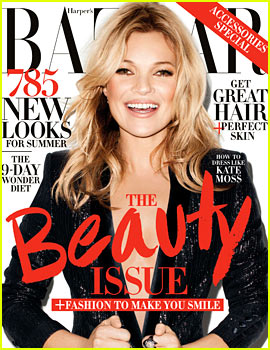 Kate Moss to 'Harper's Bazaar': I Feel More Comfortable in My Own Skin Since Turning 40