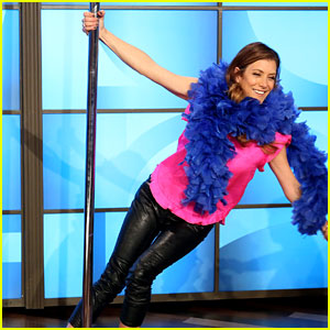 Kate Walsh Dances on Stripper Pole for Ellen DeGeneres!