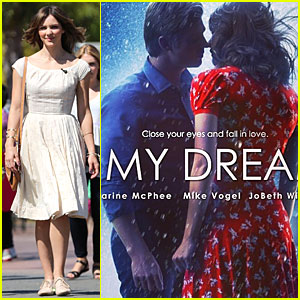 Katharine McPhee Is Enchanted By Mike Vogel in New 'In My Dreams' Promo Pic!