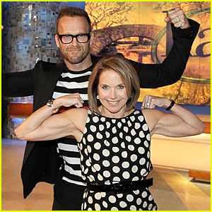 Katie Couric Flexes Her Muscles & She's Buffer Than You'd Imagine!