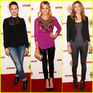Katie Lowes & Julie Bowen: City Year Los Angeles Ladies!