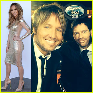 Keith Urban Finally Wears a Suit for 'American Idol'!