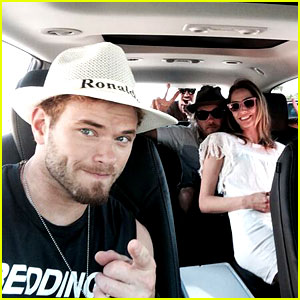 Kellan Lutz & More Celebs Take Advantage of Free Buick Car Service at Coachella!