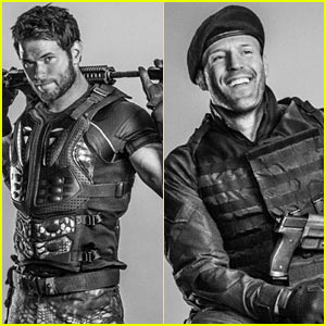 Kellan Lutz & Jason Statham Are Back in Action in 'Expendables 3' Character Posters