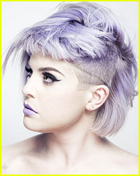 Kelly Osbourne Debuts New Partially Shaved Head