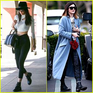 Kendall & Kylie Jenner Run Errands After Their Thailand Trip!