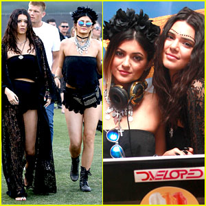 Kendall & Kylie Jenner Went All Out with Their Coachella Outfits