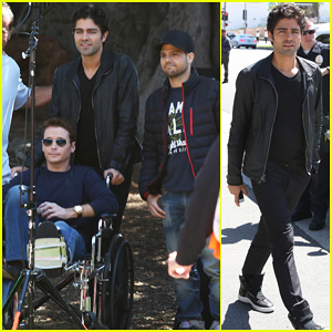 Kevin Connolly Returns to 'Entourage' Set After Breaking His Leg