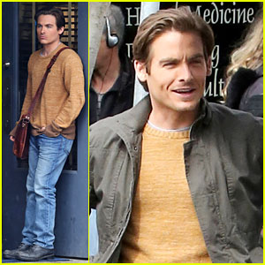 Kevin Zegers Begins Work on New TV Event Series 'Gracepoint'!