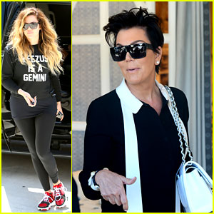 Khloe Kardashian Endorses the Messy Bun Hairstyle, Wears Her Hair Down Instead